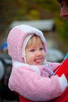 Лучший мой подарочек -это веселая дочка Надя!