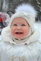 прогулка + первый снег = счастье