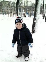 Снежная зима!