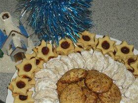 Рождественская тарелка