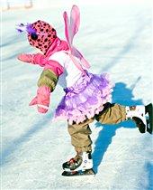 Первые ПА на льду в образе бабочки :)