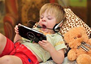 'Спокойной ночи малыши' в YouTube через WiFi.