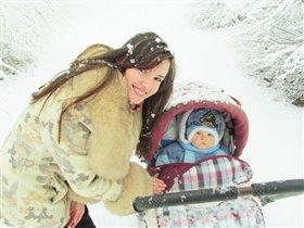 Самы первый снег)))