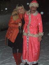 вот такие снегурки встречаются в новый год)))