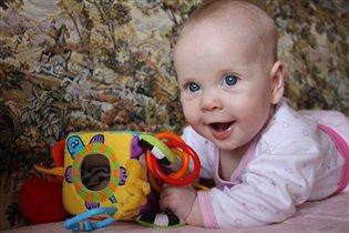 С любимой игрушкой так весело!