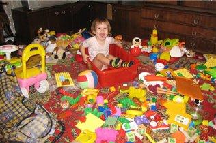Не знаю как у кого, а у меня все игрушки любимые!