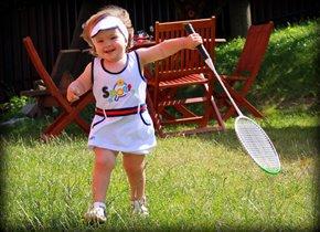 Моя девочка самая спортивная!