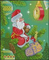 Дед Мороз по открытке Зарубина