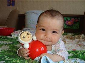 Вот она - моя любимая игрушка