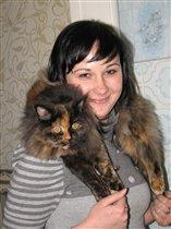 Я и моя кошка Котька