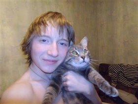 Я и президент В.В.Путин(имя кота)