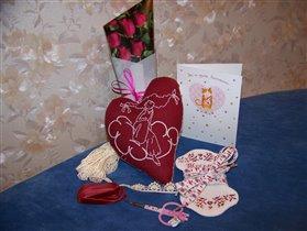 Проект винтажно-примитивное сердце 2012
