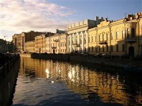 Санкт-Петербург. Немного солнца в холодной воде