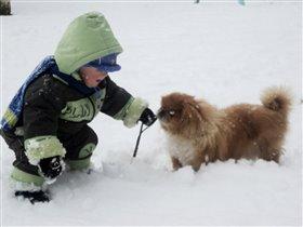 Не страшен нам мороз и непогода!!!!!