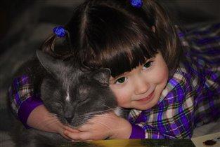 'Мой милый котик...'
