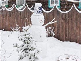 Снеговик - здоровик!