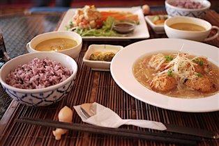 В японском ресторане во Вьентьяне