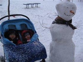 снежная нянька?!