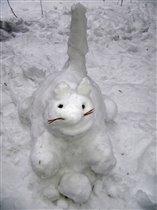 Снежный кот!