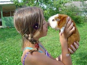 Отдых на даче полезен и детям, и животным!