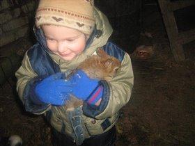 Илья и крольчонок