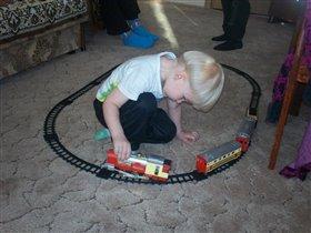 маленький железнодорожник