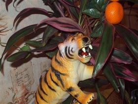 тигр-вегетарианец
