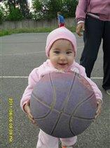 какой тяжелый мяч