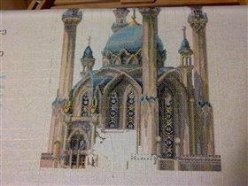 Мечеть 7 недель работы