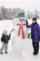 Чудо-снеговик!!!