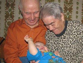 У прабабушки и прадедушки