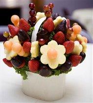Украшения из фруктов для праздничного стола