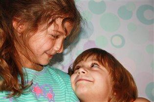 Я люблю тебя сестричка