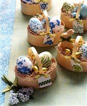 Идеи декора и украшения праздничного стола к Пасхе