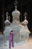 Ледяной храм в Вотчине Деда Мороза