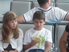 в Шереметьево) летим в Крым 2011)