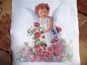 Dimensions Rose Petal Angel_