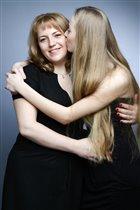 Я со своей старшей дочерью Анютой