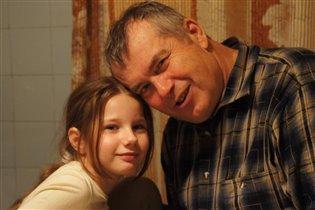 с любимым дедом