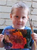 Юный живописец