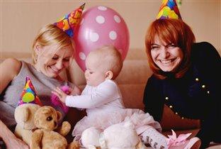 Марусин первый день рождения