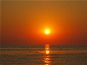 Восход звезды Солнце