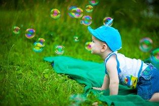 Ловлю мыльные пузыри