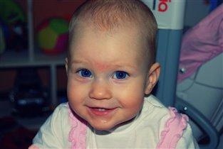 Самая искрення улыбка-улыбка ребёнка!