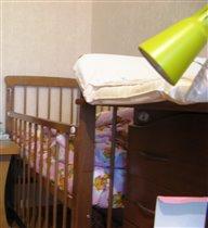 кроватки и комод