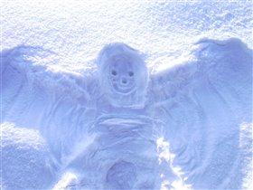 Снежный ангел.