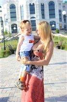 Мамулька и сынулька))))