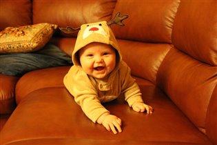 Улыбка нашей чудесной малюточки