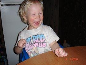 Когда смех от души, все гримасы хороши!