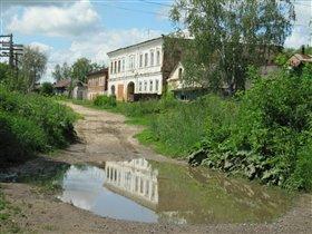 Старинный уездный город Крапивна